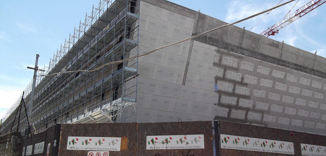 Auditorium Isernia, lavori in corso