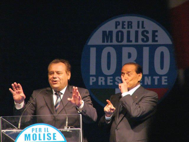 Iorio e Berlusconi