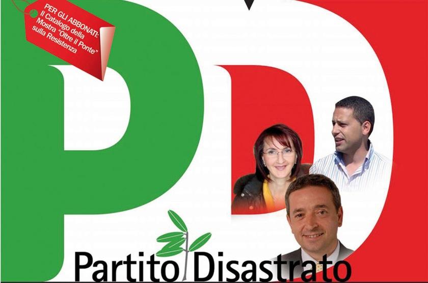 Copertina maggio 2010, Pd Partito Disastrato