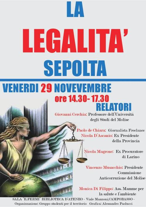 manifesto convegno campobasso, 29 nov 2013