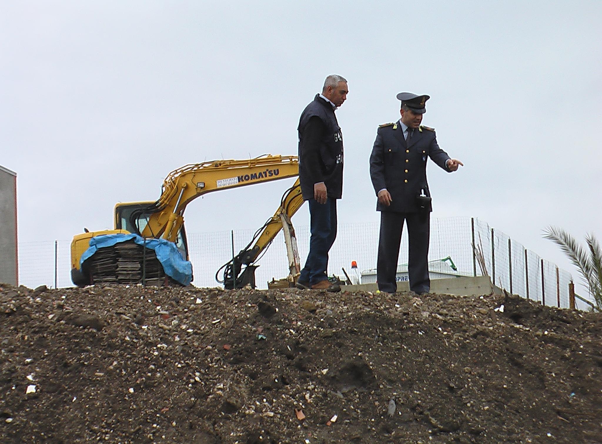 Operazione Guardia di Finanza di Capua, 11 febbraio 2014 Calvi Risorta, Caserta