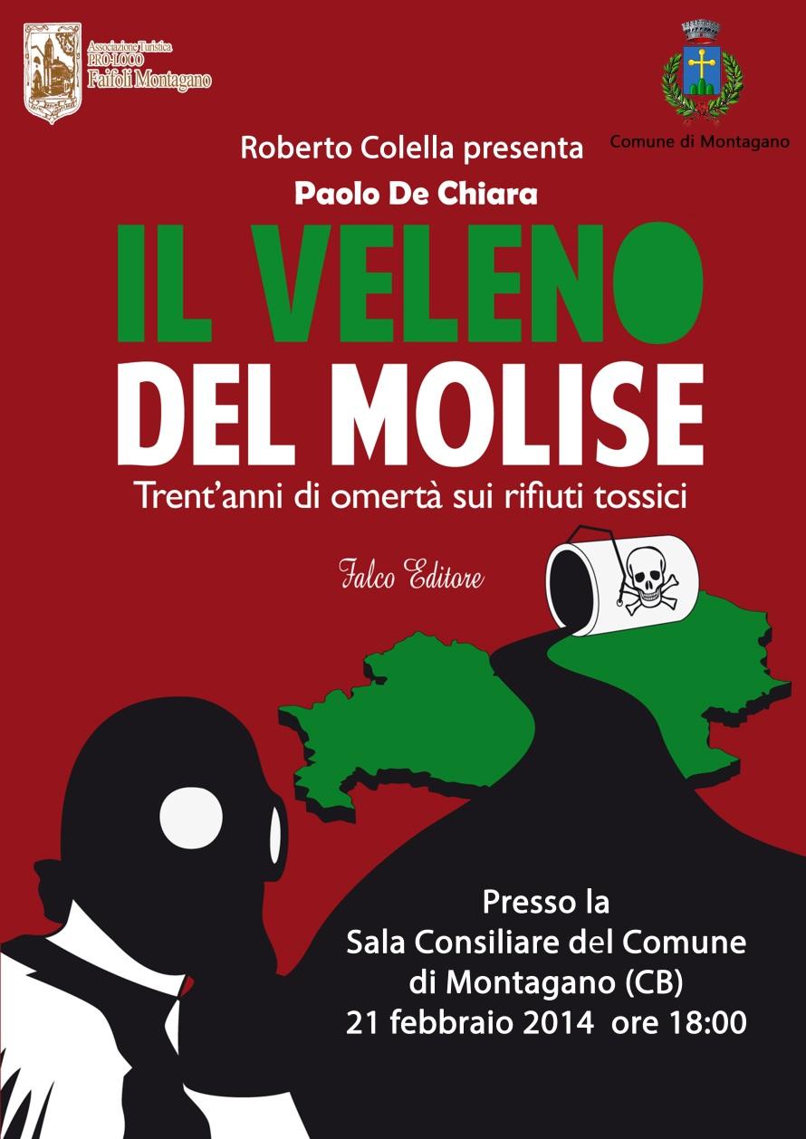 presentazione libro il veleno del molise
