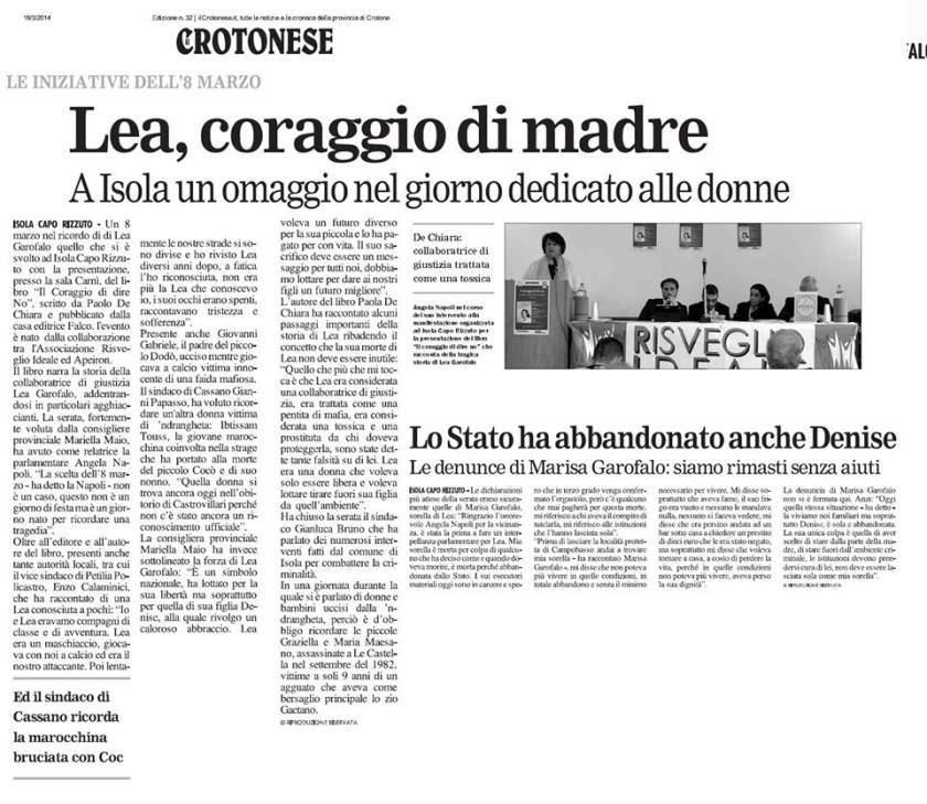 articolo crotonese