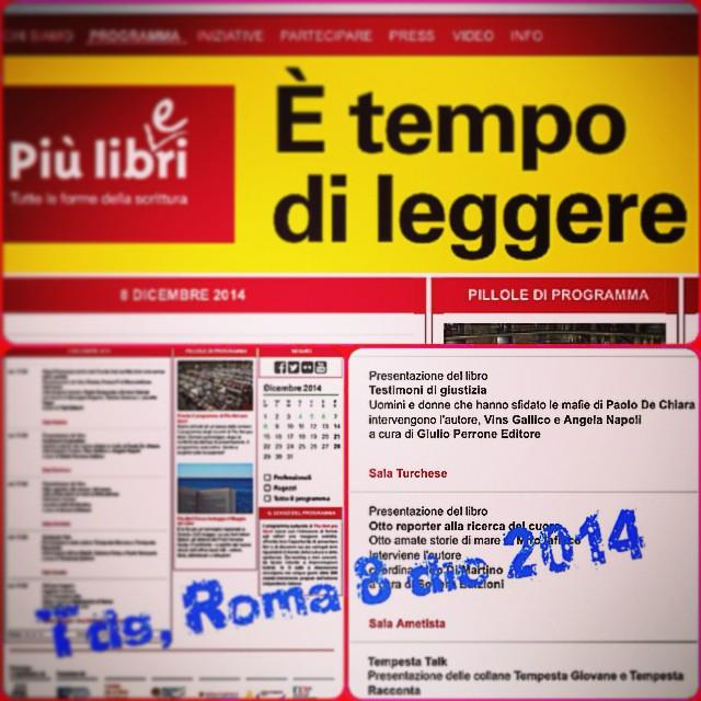 TDG fiera libro piùlibripiùliberi roma dic2014