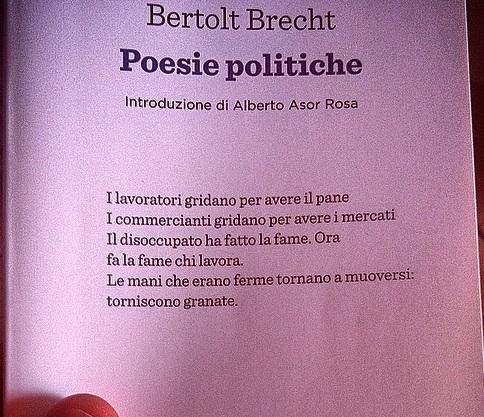 Poesie Politiche, Einaudi