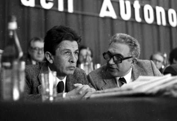 Pio La Torre con Enrico Berlinguer, da Repubblica.it