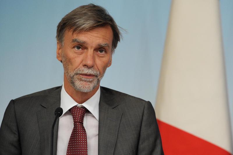 Il Ministro Delrio, foto ecodibergamo.it
