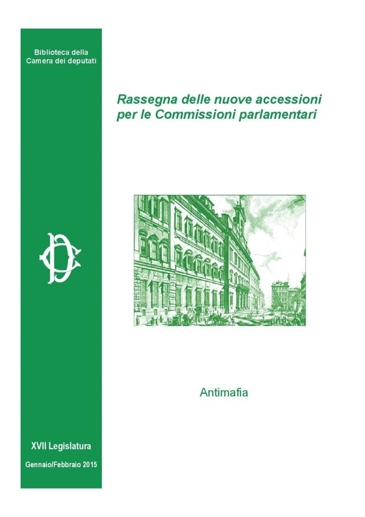 Antimafia Bìiblioteca Camera dei Deputati, gennaio 2015-page-001