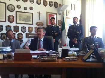 Conferenza Stampa, Procura della Repubblica di Isernia
