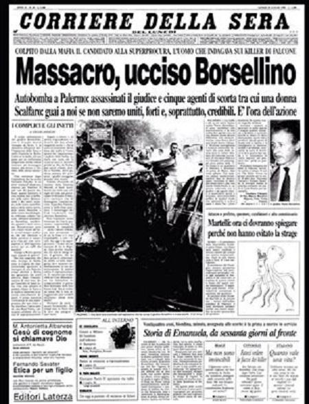 MASSACRO Borsellino