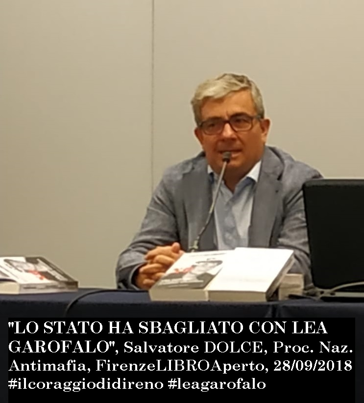 Salvatore Dolce, DNA, 28sett2018, Firenze foto e frase.jpg