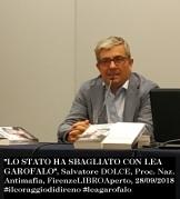 Salvatore Dolce, DNA, 28sett2018, Firenze foto e frase